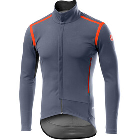 Castelli Perfetto Rain Or Shine Jas lange Mouwen Heren, dark/steel blue